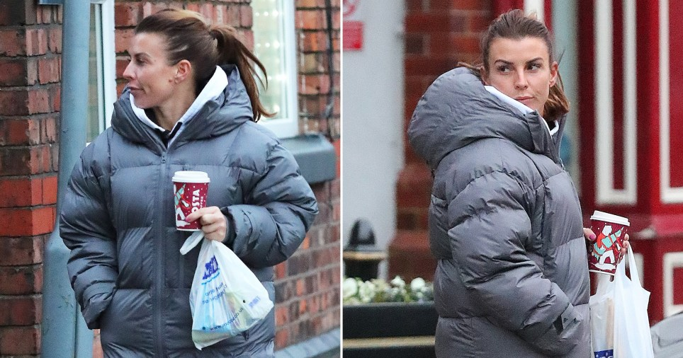 Coleen Rooney spotted getting coffee after first court hearing against Rebekah Vardy