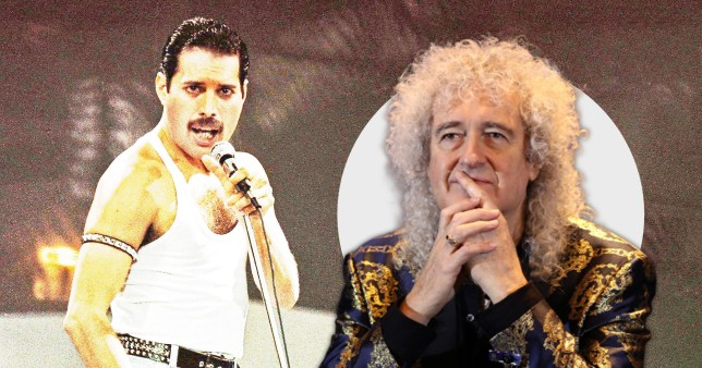 Brian May pays tribute to Freddie mercury