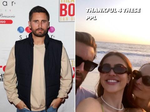 Amelia Hamlin, 19, 'thankful' for rumoured boyfriend Scott Disick, 37, as she shares selfie with reality star