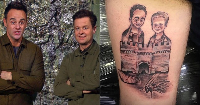 Ant and Dec super fan gets tattoo of duo