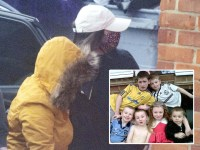 Mum pictured in public since being freed for killing six children in house fire