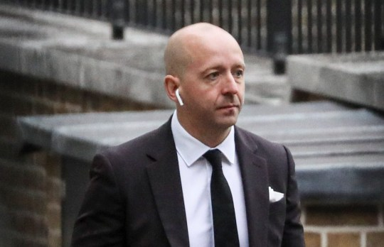 Lee Cain, Downing Street Director of Communications arrives for a Cabinet meeting at Downing Street in London, Britain, September 8, 2020. REUTERS/Simon Dawson