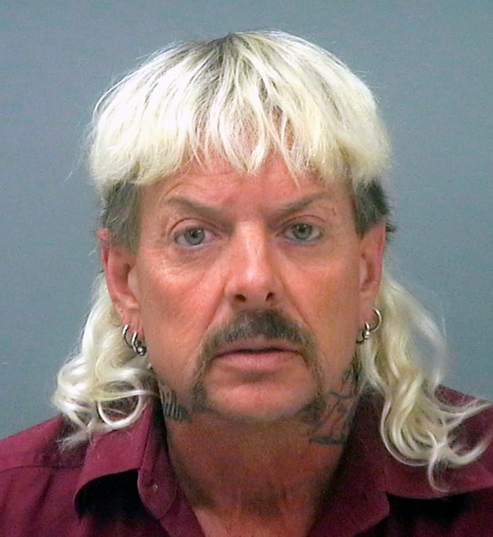 Tiger King star Joe Exotic mugshot