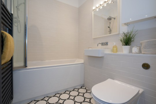 A second bathroom