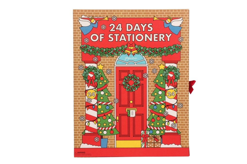Stationery Advent Calendar, £28, Paperchase, paperchase.com.