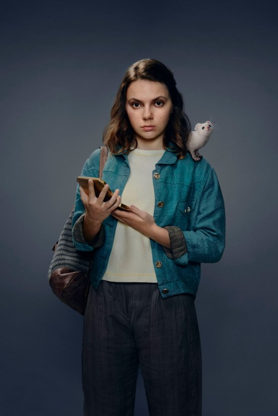 Dafne Keen in His Dark Materials