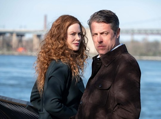 Hugh Grant and Nicole Kidman in the Undoing.