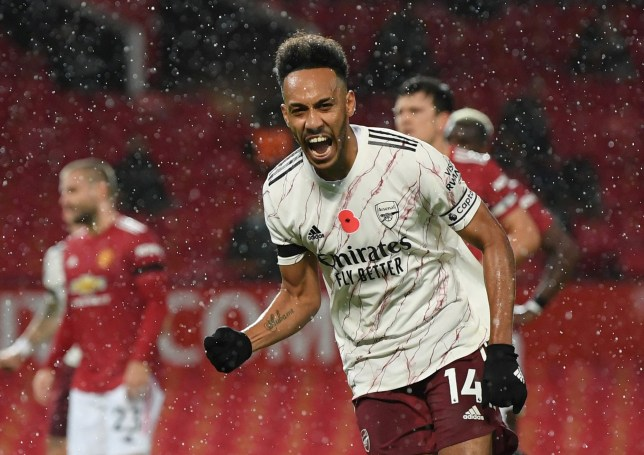 Pierre-Emerick Aubameyang scored the winner as Arsenal beat Manchester United