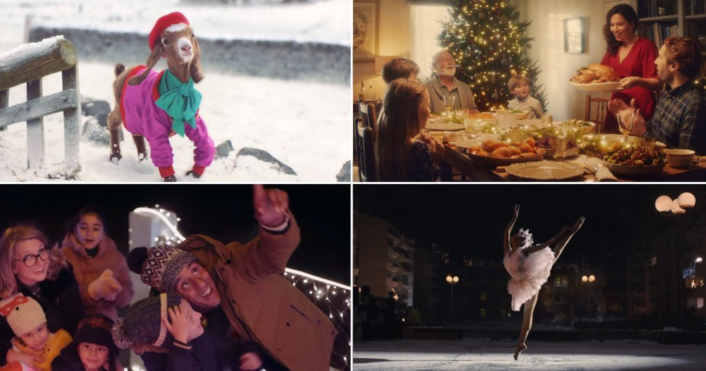 Ranking of Christmas ads so far