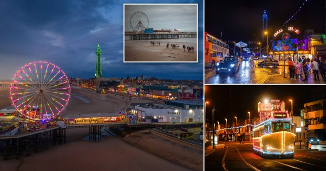Blackpool Illuminations to be turned off ahead of second lockdown (Picture: Getty, PA)