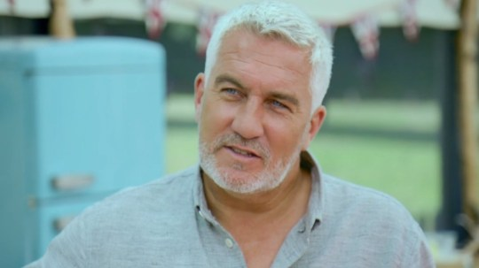 Paul Hollywood appearing on The Great British Bake Off