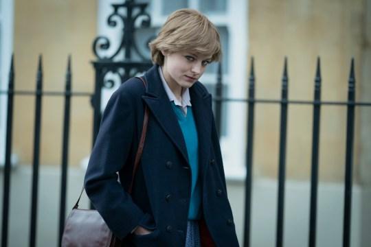 Picture shows: Princess Diana (EMMA CORRIN)