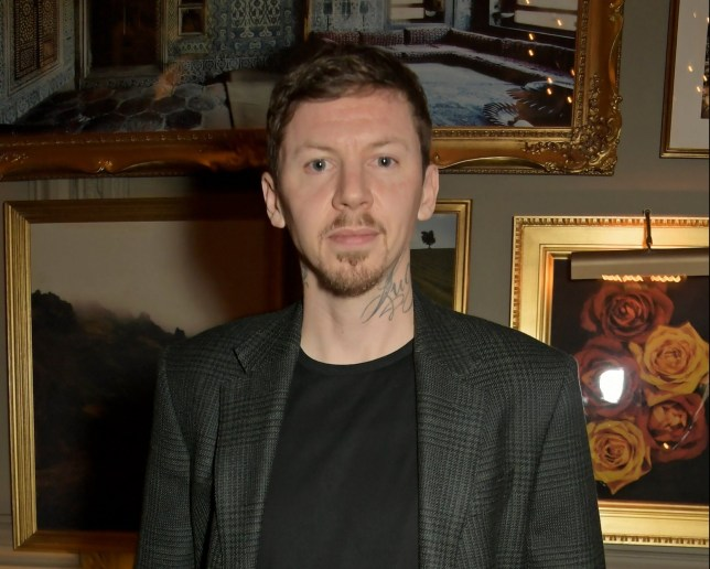 LONDON, ENGLAND - JANUARY 06: Professor Green attends the British GQ dinner, co-hosted by Dylan Jones & Jack Guinness, in partnership with J.P.Hackett, No.14 Savile Row, during London Fashion Week Men's January 2020 at Berners Tavern on January 06, 2020 in London, England. (Photo by David M. Benett/Dave Benett/Getty Images)