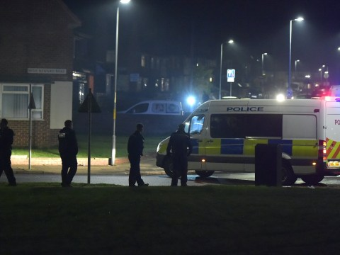 Families flee as thugs shoot fireworks at crowds on Bonfire Night