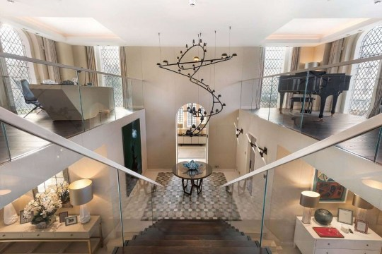 Incredible church conversion for sale in Fulham, London, for ?15 million PLEASE LINK BACK TO SAVILLES