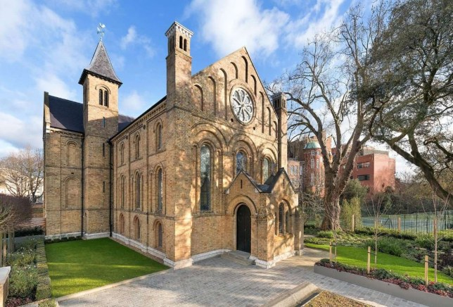 Incredible church conversion for sale in Fulham, London