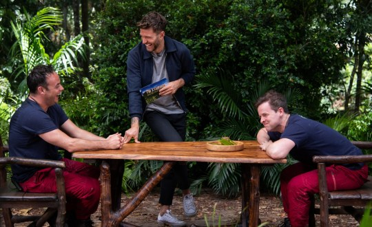 Ant and Dec take part in I'm A Celebrity eating challenge