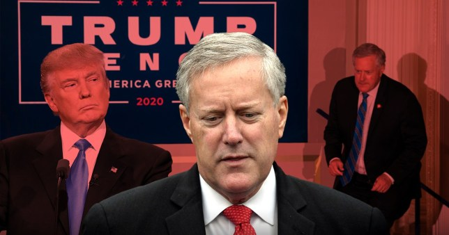 Donald Trump's chief of staff Mark meadows has tested positive for coronavirus.