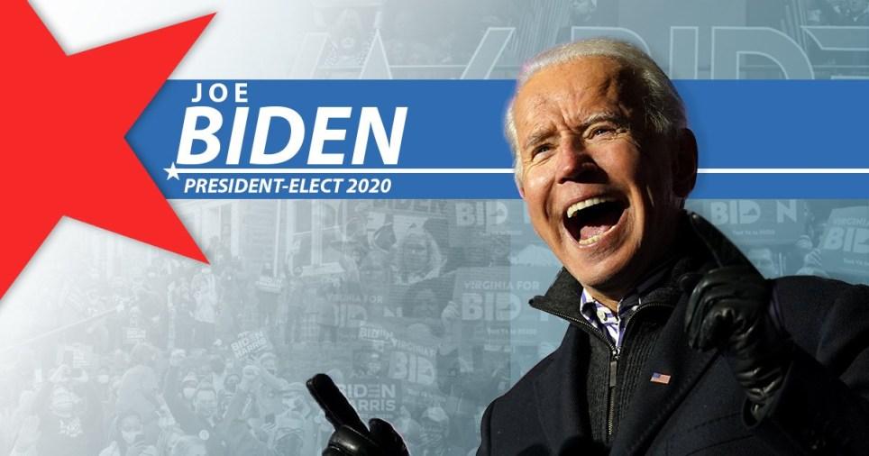 Breaking Biden wins President elect