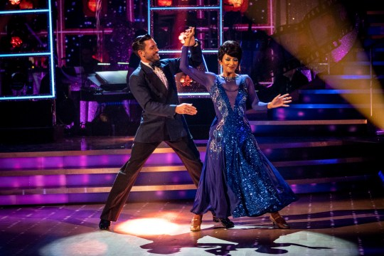 Giovanni Pernice and Ranvir Singh on Strictly Come Dancing