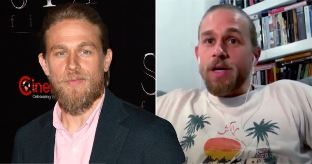 Charlie Hunnam may be battling coronavirus twice