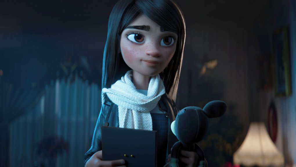 The granddaughter in the 2020 Disney Christmas advert
