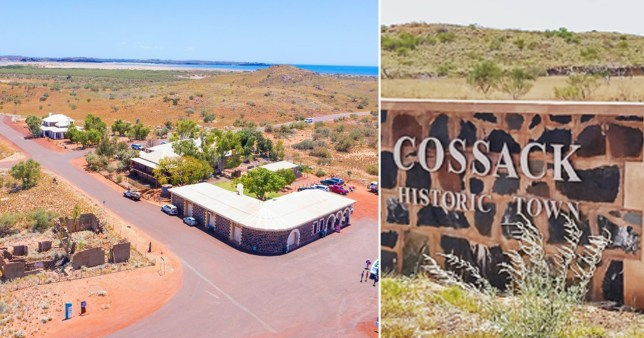 An entire ghost town in Australia is for sale
