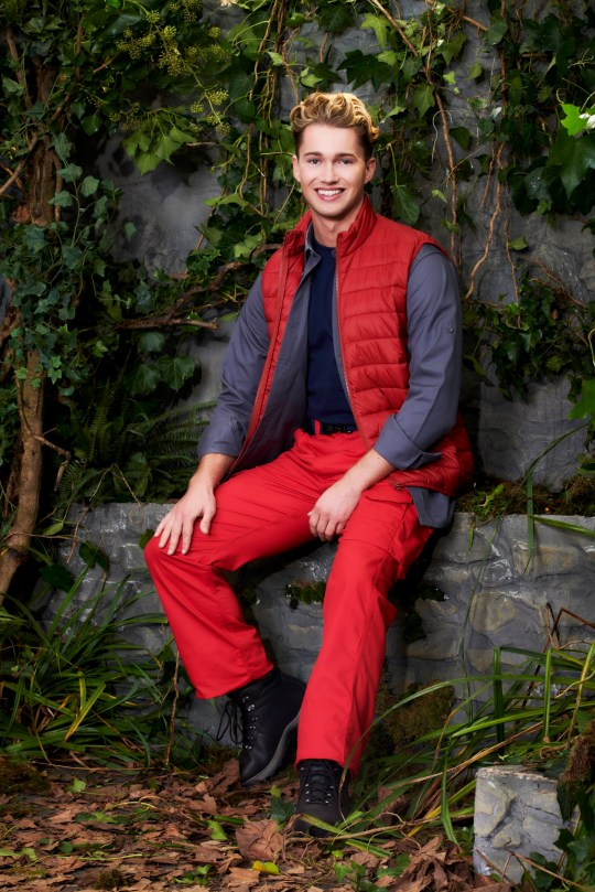 I'm A Celebrity... Get Me Out Of Here! 2020 contestant AJ Pritchard
