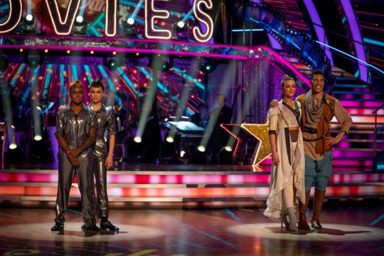 sTRICTLY MOVIE WEEK BOTTOM TWO