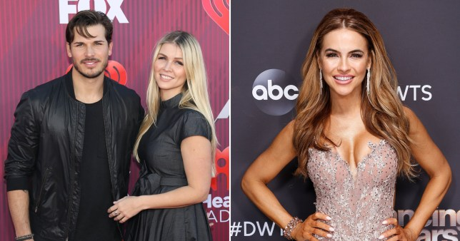 Gleb Savchenko pictured with wife alongside Dancing With The Stars partner Chrishell Stause