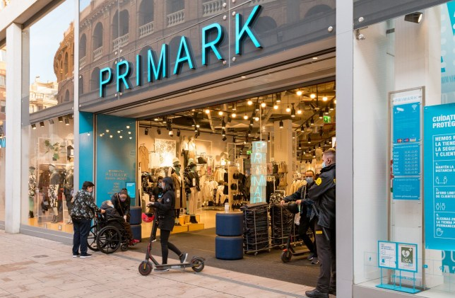a primark store front