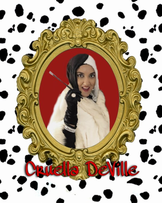 Sabeen as Cruella DeVille