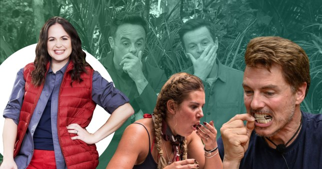 Giovanna Fletcher says she's been practicing I'm A Celebrity eating trials for years Rex Features