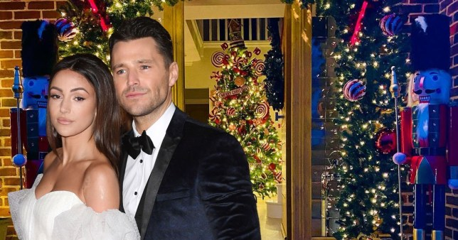 Mark Wright and Michelle Keegan put up xmas tree in early NOVEMBER!