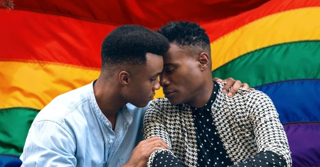 Pose's Dyllon Burnside and Billy Porter as Ricky and Pray Tell