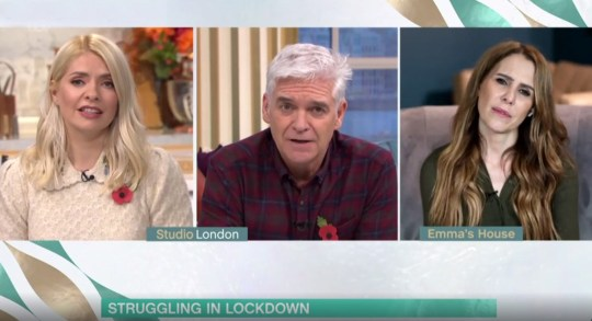 Picture: ITV This Morning caller too depressed to get out of bed