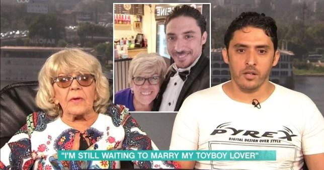 This Morning pensioner Iris gets married to toyboy Pics: Rex/Iris Jones/Facebook