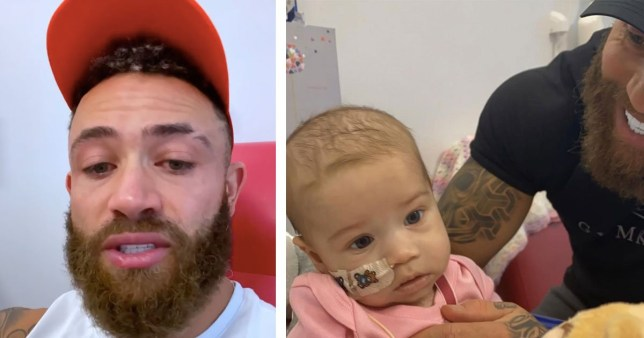 Record number of stem cell donors put hand up after Ex On The Beach star's plea for baby daughter