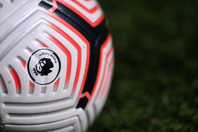 FILE PHOTO: Soccer Football - Premier League - Leeds United v Fulham - Elland Road, Leeds, Britain - September 19, 2020 General view of a match ball before the match Pool via REUTERS/Laurence Griffiths EDITORIAL USE ONLY. No use with unauthorized audio, video, data, fixture lists, club/league logos or 'live' services. Online in-match use limited to 75 images, no video emulation. No use in betting, games or single club/league/player publications. Please contact your account representative for further details./File Photo
