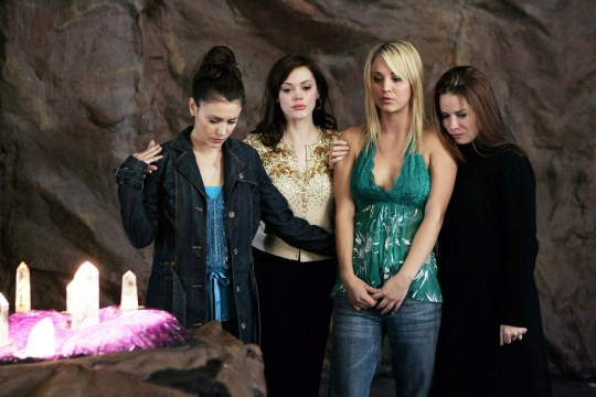 Kaley Cuoco on Charmed