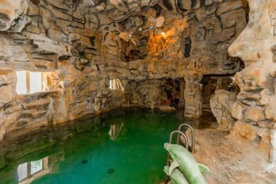 indoor swimming area