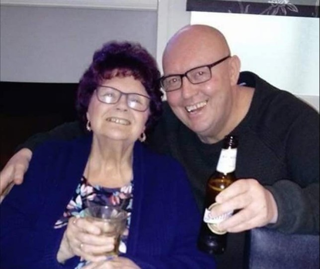 Mark Wakefield and his mother Dorothy Wakefield