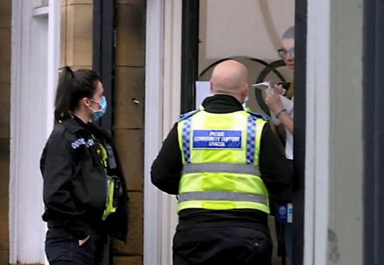 The owner of Quinn Blakey Hairdressing, Sinead Quinn, has been fined £3,000 for reopening her salon after it was closed by police and council workers earlier this week,