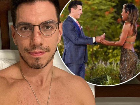 Bachelorette suitor Peter Giannikopoulos crashes car after finding out he has coronavirus