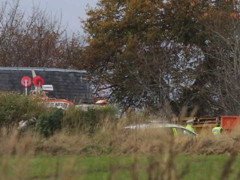 Helicopter crashes into field near fishing village in the Scottish Highlands
