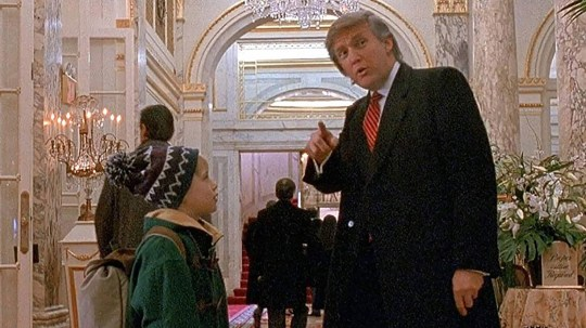 Donald Trump bullied his way into Home Alone 2