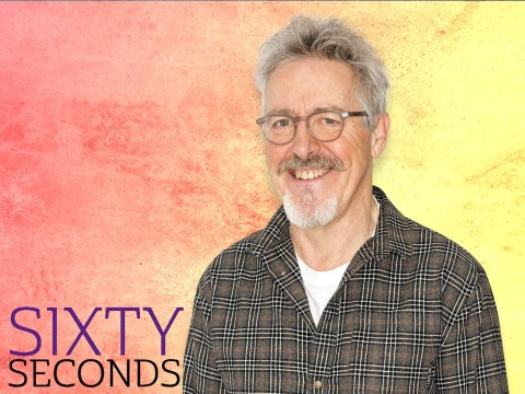 Sixty Seconds: Griff Rhys-Jones on whether he'd bring back Not The Nine O'Clock News and doing a bungee jump in his 60s