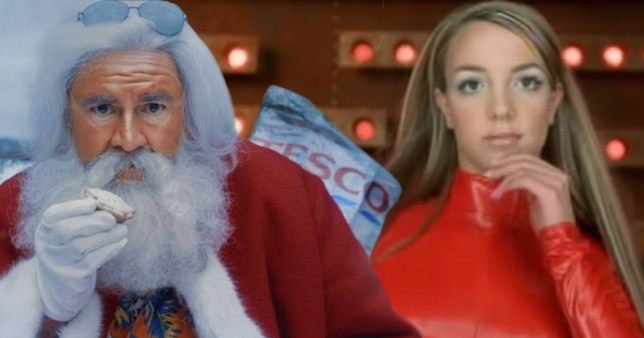 Tesco Santa Britney
