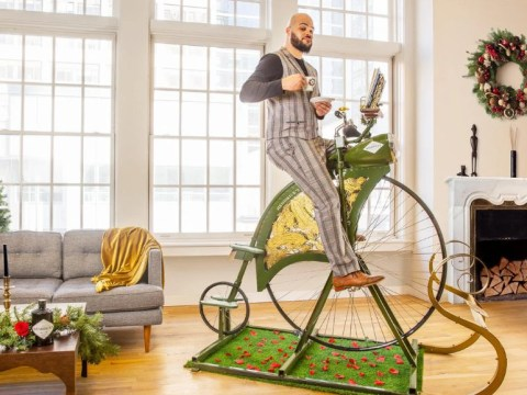 Hendrick's Gin launches £1,800 high wheel exercise bike