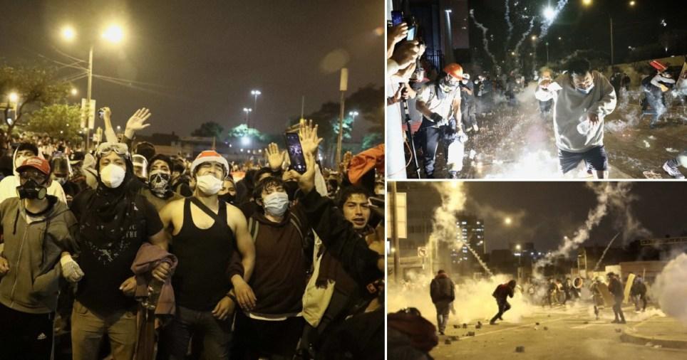 Manifestations au Pérou.